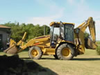 Cat 416 Backhoe